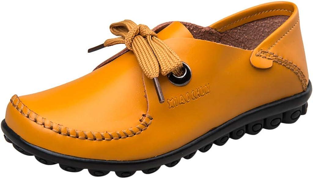 ZARLLE Zapatos Verano Primavera otoño Mujer,Mocasines para Mujer,Color sólido Zapatos Planos Cómodo Zapatos Salvajes Zapatos Individuales,Zapatos Casuales: Amazon.es: Ropa y accesorios