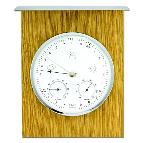 La Crosse Technology 20.1079.01 Analog Weather Station, in/Out Use, Oak -