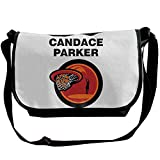 Amurder Personalized Candace Parker Basketball Sport Messenger Shoulder Bag