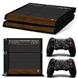 Ps4 Playstation 4 Console Skin Decal Sticker Atari Old Retro + 2 Controller Skins Set