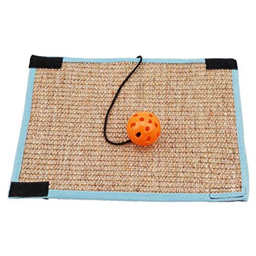 Jim-Hugh Board Mat Pad Cat Sisal Loop Carpet Scratcher Indoor Home Furniture Table Chair Sofa Legs Protector Pet Toy
