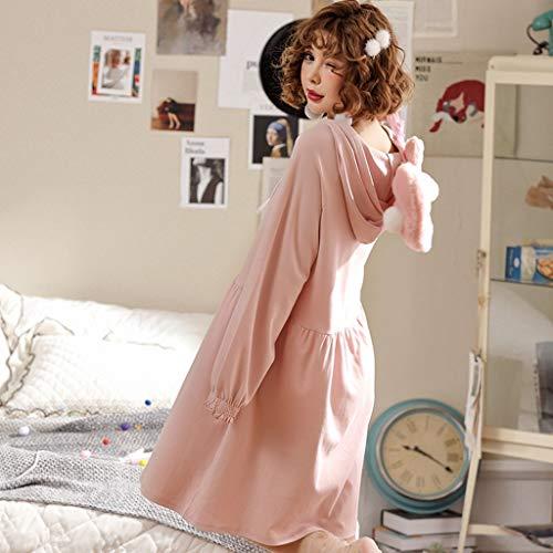 pigiama Pink Size pigiama e pigiama primavera pigiama pigiama XL pigiama Pink pigiama autunno Pigiama Color pigiama ShenZuYangShop pigiama 5wxqvTZT