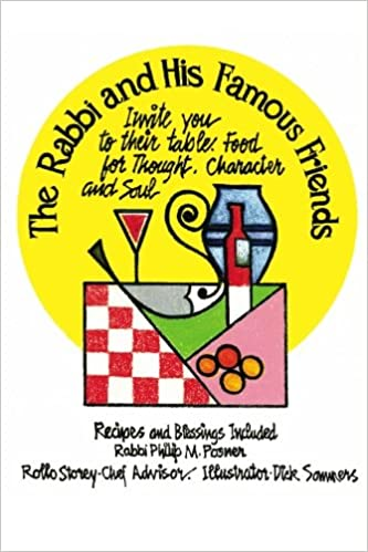 Read Food for Thought, Character and Soul - Recipes and Blessings Included: The Rabbi and His Famous Friends Invite You to Their Table PDF, azw (Kindle), ePub