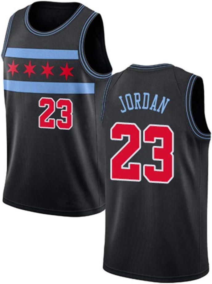 Hombre Mujer Ropa de Baloncesto NBA Michael Jordan 23# Chicago ...