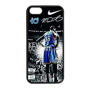 CTSLR Laser Technology Kevin Durant Case Cover Skin for Apple iPhone 5/5s- 1 Pack - Black - 4