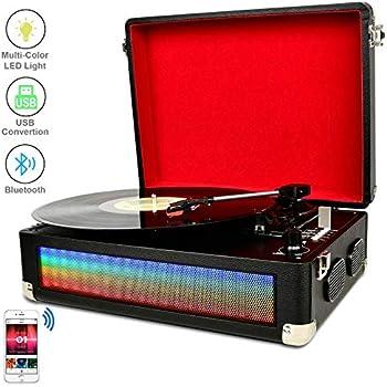 Amazon.com: Victrola - Tocadiscos con altavoces (3 ...