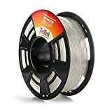 Clear 3D Printing Filament PLA 1.75mm 2.2LBS, Dimensional Accuracy of +/- 0.05mm