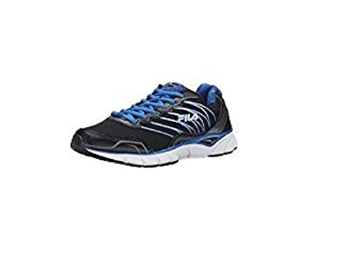 eefa5b0aa22f Fila Men s Indus Cool Max Sneaker Black Blue Size 8 M US  Amazon.ca  Shoes    Handbags