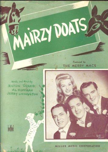 Mairzy Doats Sheet Music 601-2