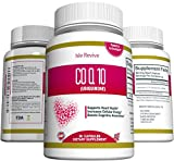 CoQ10 Ubiquinone High Absorption Supplement - 200mg Capsules -...
