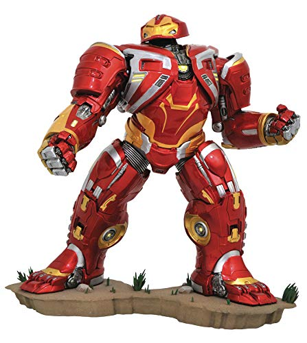 DIAMOND SELECT TOYS Jan192549 Marvel Gallery: Avengers Infinity War: Hulkbuster Mk2 Deluxe PVC Figure, Multicolor