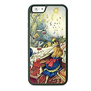 Alice in Wonderland Pulling the Tablecloth Hard PC Back Case Cover For Apple Iphone 6 4.7 Inch