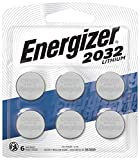 Energizer CR2032 Batteries, 3V Lithium Coin Cell 2032 Watch Battery, (6 Count): more info