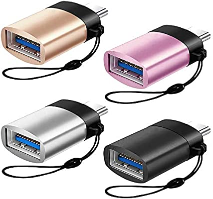 AFUNTA - Adaptador Tipo C a USB 3.0 con Correa para Llavero ...