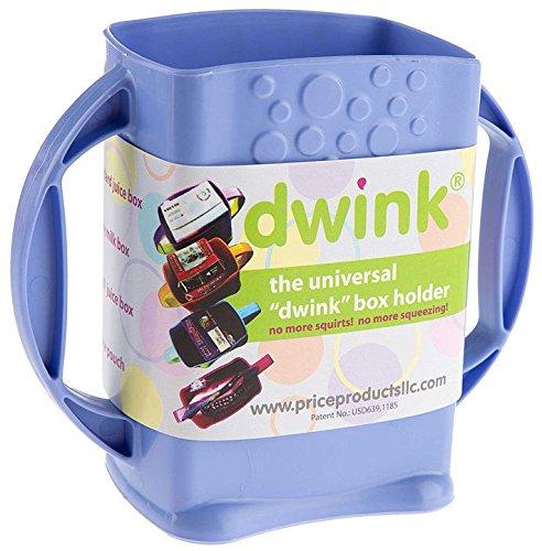 Dwink Universal Juice Pouch Milk Box Holder (Lavender)
