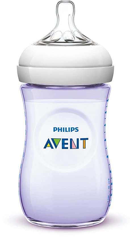 Philips AVENT SCF693/14 - Biberón (Púrpura, Blanco): Amazon ...