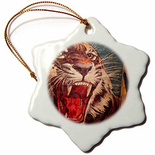 3dRose Florida, Sarasota, Ringling Museum, Circus Museum-US10 WBI0588-Walter Bibikow Snowflake Ornament