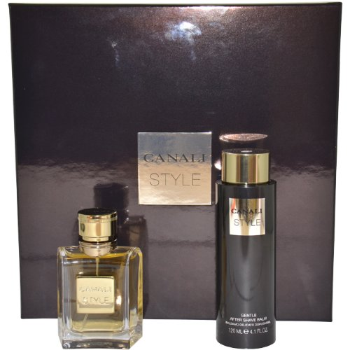 Canali Style for Men Gift Set - 50 ml EDT Spray + 126 ml Aftershave Balm 5391512271237