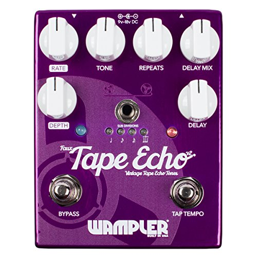wampler-pedals-faux-tape-echo-v2-delay-effects-pedal