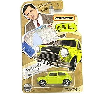 Matchbox 2020 Mr Bean Mini Cooper #30/100 (neon Yellow)