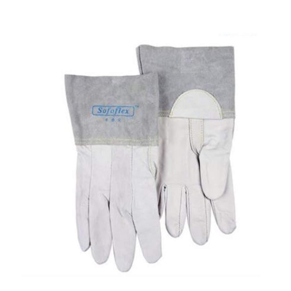 KYCD Gloves Guanti per Saldatura ad Arco Argon Guanti per saldatori Guanti Lunghi Morbidi Resistenti all'Usura