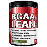 Evlution Nutrition BCAA Lean Energy – Energizing Amino Acid for Muscle Building Recovery and Endurance, with a Fat Burning Formula, 30 Servings (Cherry Limeade) Review