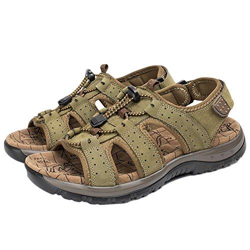 Scarpe Antiscivolo Sandali DianShaoA da Arrampicata Sportivi Verde Sandalo Arrampicata Sandali da Uomo Fisherman da Outdoor SBA8q