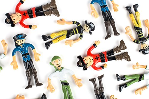 Pirate Booty Bendable Figures Birthday product image
