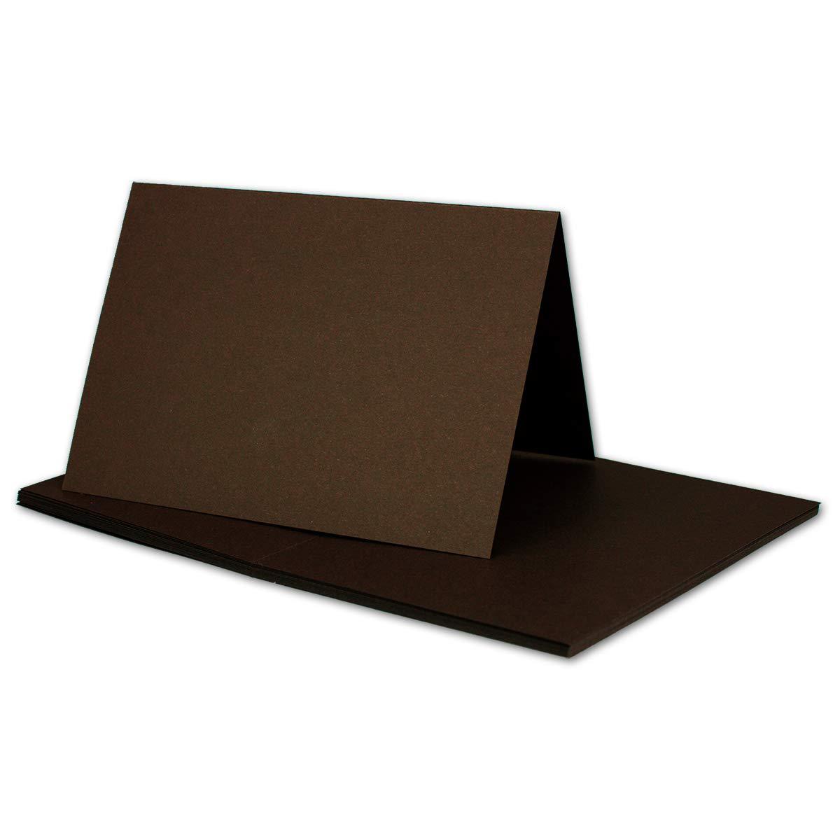 250x Falt-Karten DIN A6 Blanko Doppel-Karten in Hochweiß Kristallweiß -10,5 x 14,8 cm   Premium Qualität   FarbenFroh® B079X466YC | Am wirtschaftlichsten