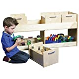 Constructive Playthings Birch Mobile Science Cart