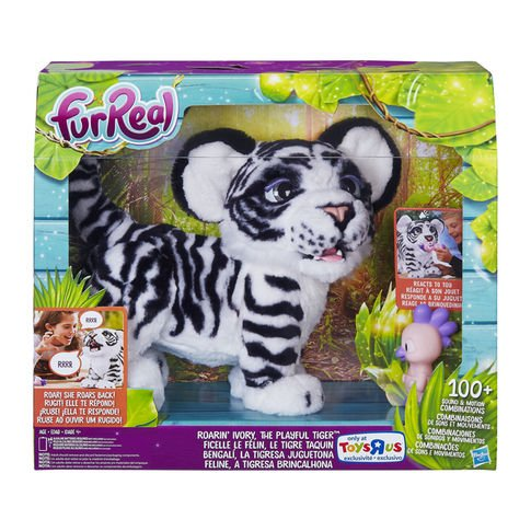 FurReal Friends Roarin' Ivory, the Playful Tiger Exclusive (Bunny Halloween Costume Ideas)