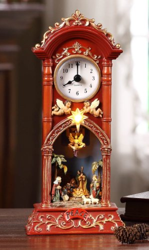 Nativity Clock by Icy Craft