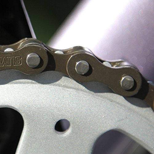 ZONKIE Single-Speed Bicycle Chain 116 Links by ZONKIE (Image #4)