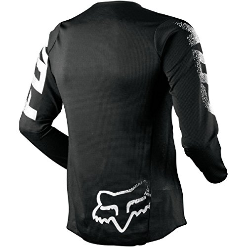 Fox Racing 2019 Youth Blackout Jersey (SMALL) (BLACK) by Fox Racing (Image #1)