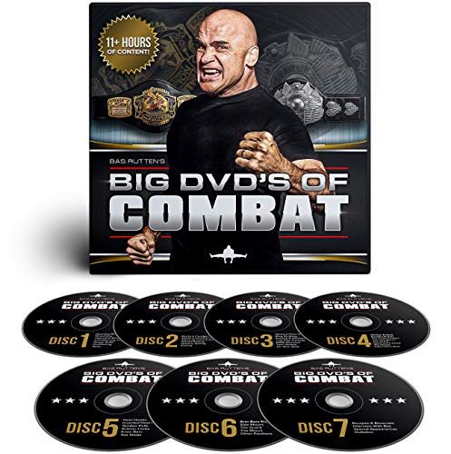 BAS-RUTTEN Big DVD of Combat from Bas Rutten