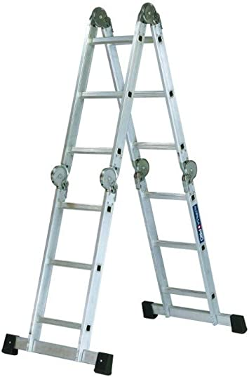 ALTIPESA 1 Escalera articulada de aluminio multi posiciones (EN 131), Standard: Amazon.es: Bricolaje y herramientas