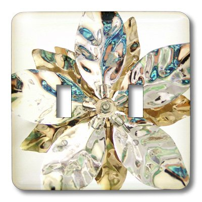 lsp_18685_2 Florene Decorative - Silver Petals On White - Li