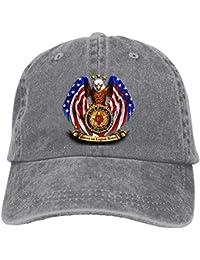 e790c5f44c480 American Legion Riders Chapter Adjustable Baseball Caps Denim Hats