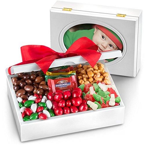 Gourmet Treat Box (Holiday Sweets and Treats in Keepsake Photo Frame Box)