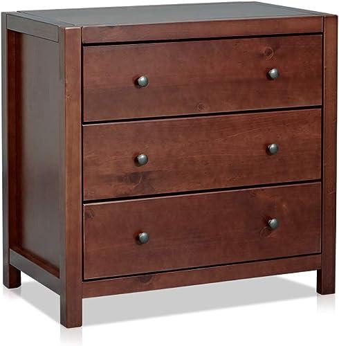 MUSEHOMEINC Wood Bedroom Dresser