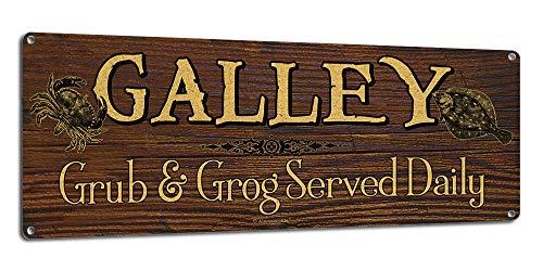 Galley ~ Nautical Decor Theme ~ 6