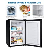 Euhomy Upright Freezer, 3.0 Cubic Feet,Compact