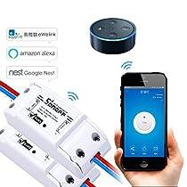 EVILTO Sonoff DIY Wireless Smart Switch Smart Home Controllato Interruttore Intelligente WiFi Domestica Telecomando per iOS Android App Elettrodomestico