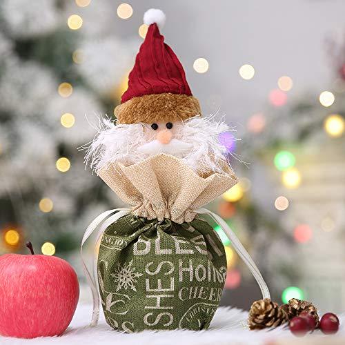 Home Decor,Pandaie Christmas Decorations Clearance Christmas Decorations Xmas English Snowman Apple Bag Christmas Eve Apple Bag