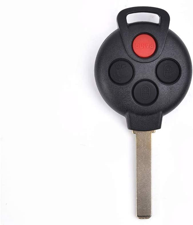 uxcell/® Replacement Keyless Remote Car Key KR55WK45144 315Mhz PCF7941 Chip for 2008-2015 Smart ForTwo