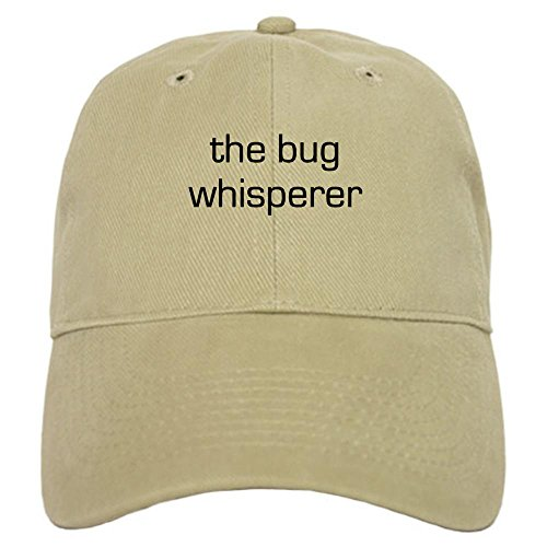 cafepress-bug-whisperer-cap-baseball-cap-with-adjustable-closure-unique-printed-baseball-hat