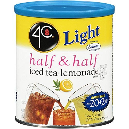 4C Light Half & Half Iced Tea/Lemonade Mix 22 qt. (Pack of 3)