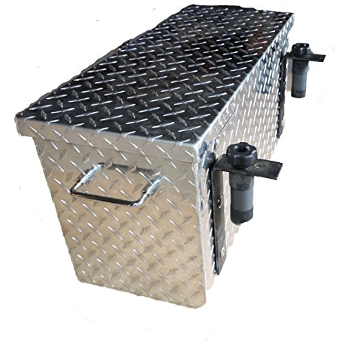 Hornet Outdoors R-3026 Polaris Ranger & General Aluminum Diamond Plate Tool Box