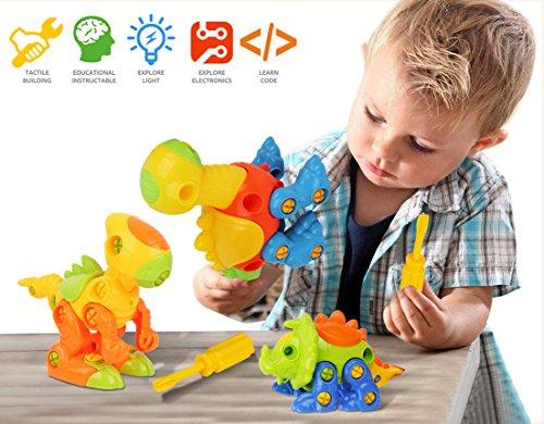 Dinosaurs Toys, Take Apart Toys Dinasours for Kids, (Pack ...