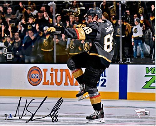 Nate Schmidt Vegas Golden Knights Autographed 8